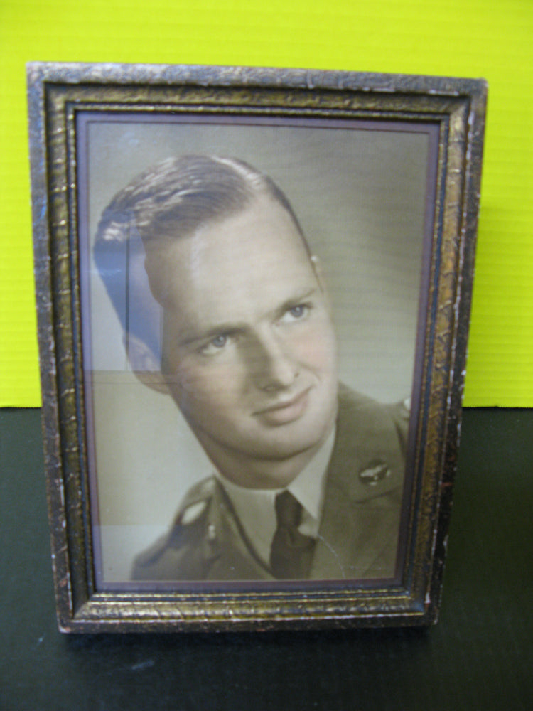 Framed Portrait of a Gentleman Service Member