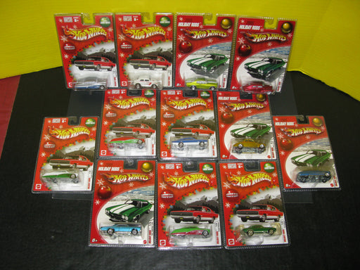 Lot of 12 Holiday Rods