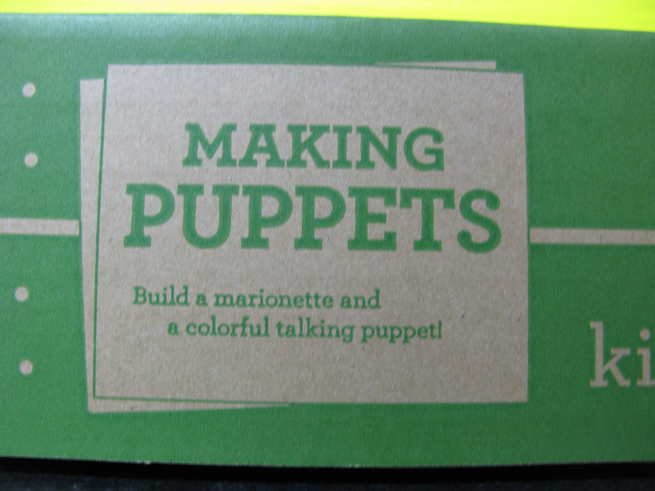 Kiwi Crate Making Puppets