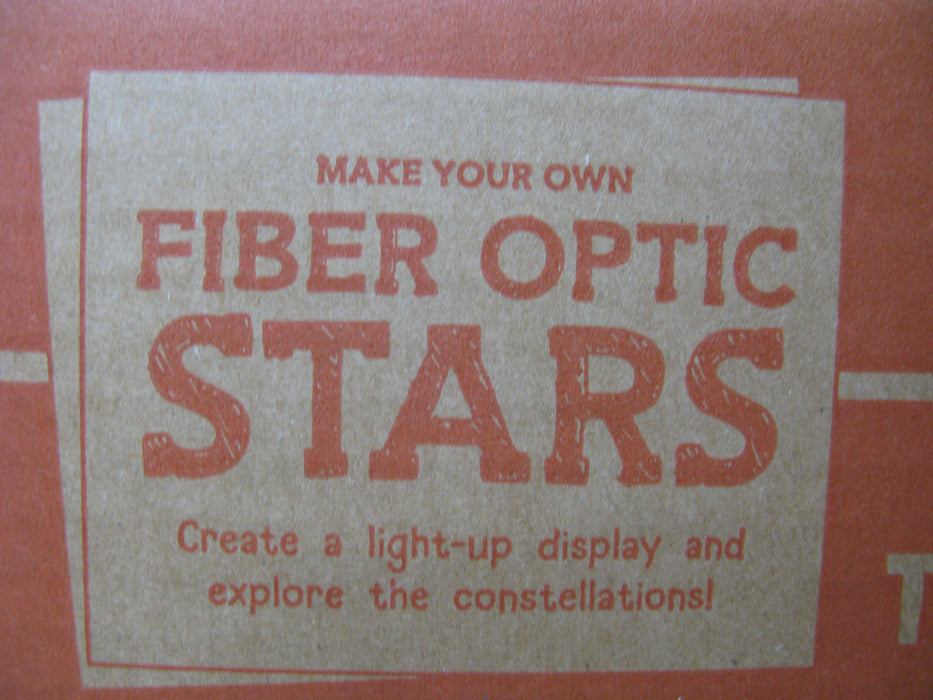 Tinker Crate Fiber Optic Stars