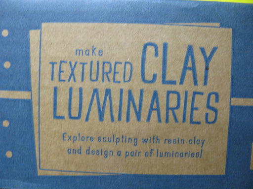 Doodle Crate Textured Clay Luminaries