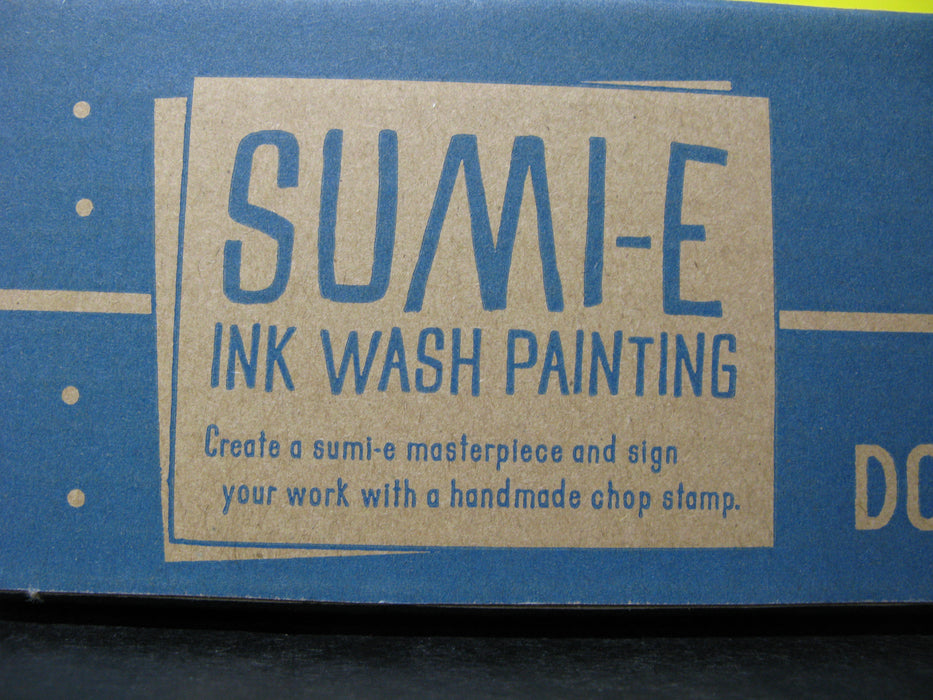 Doodle Crate Sumi-E Ink Wash Painting