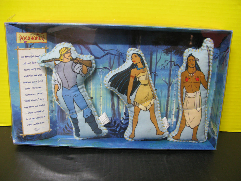 Vintage Disney's Pocahontas 3 Plush Set