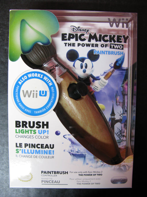 Disney Epic Mickey The Power of Two Paintbrush Wii