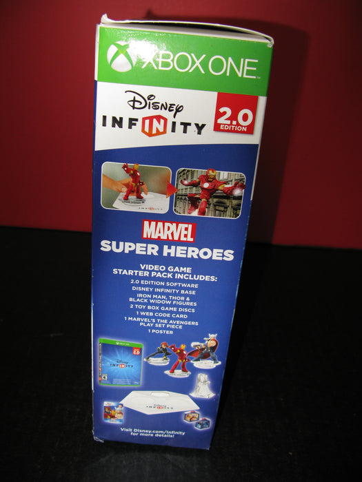 Xbox One Disney Infinity 2.0 Edition Marvel Super Heroes 1 Starter Pack