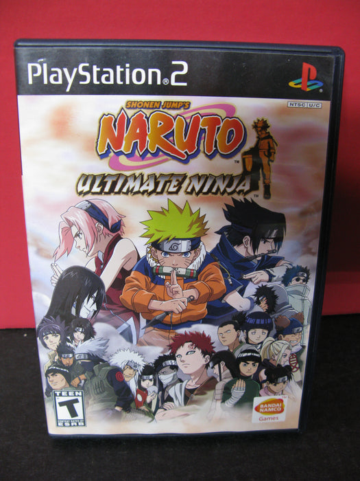 Playstation 2 Shonen Jump's Naruto Ultimate Ninja Game