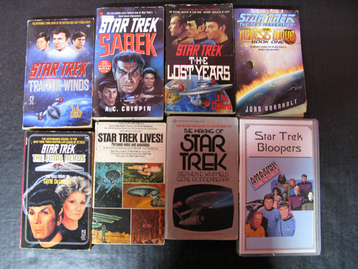 Star Trek Books and VHS