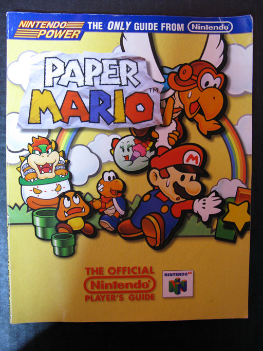 Paper Mario Nintendo The Official Player's Guide