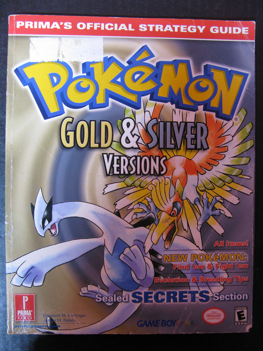 Pokemon Gold & Silver Prima's Official Strategy Guide