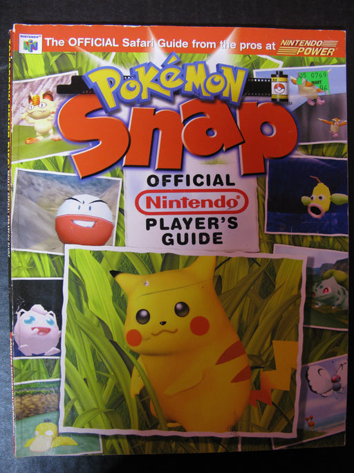 Pokemon Snap Official Player's Guide