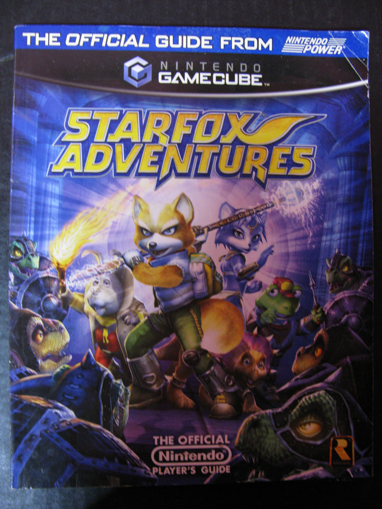 Star Fox Adventures Official Player's Guide