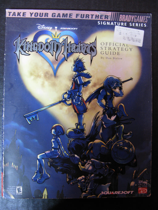 Brady Games Kingdom Hearts Official Strategy Guide
