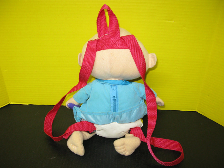 Rugrats Tommy Pickles Party Bow Tie Plush Backpack
