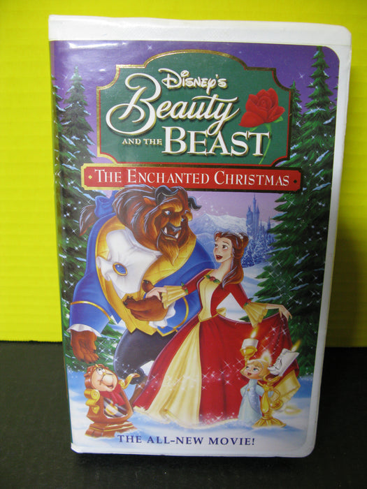 Disney's Beauty and the Beast The Enchanted Christmas VHS
