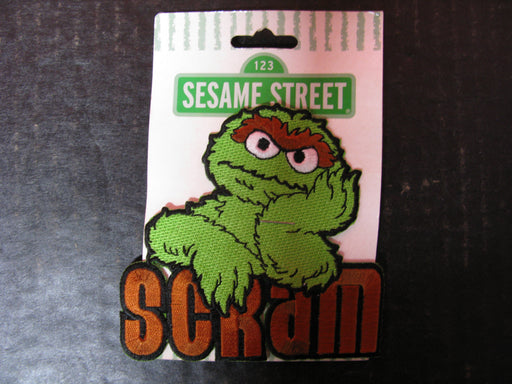 Oscar the Grouch Sesame Street Patch