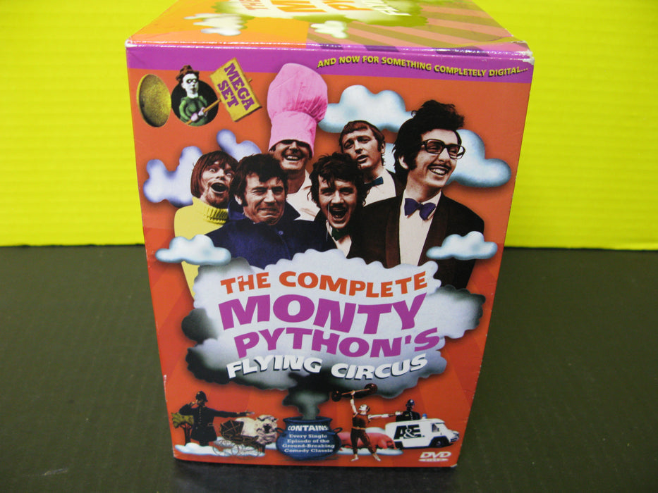The Complete Monty Python's Flying Circus DVD's (14 count)