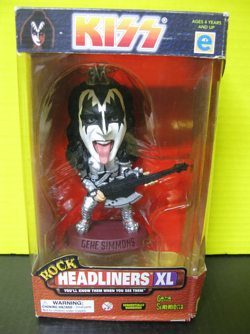 4 KISS Figures Rock Headliners XL