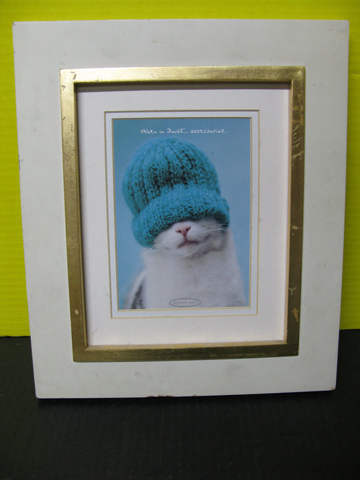 Framed Kitten Picture