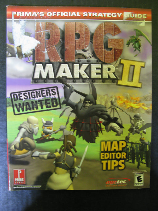 RPG Maker II Prima's Official Strategy Guide