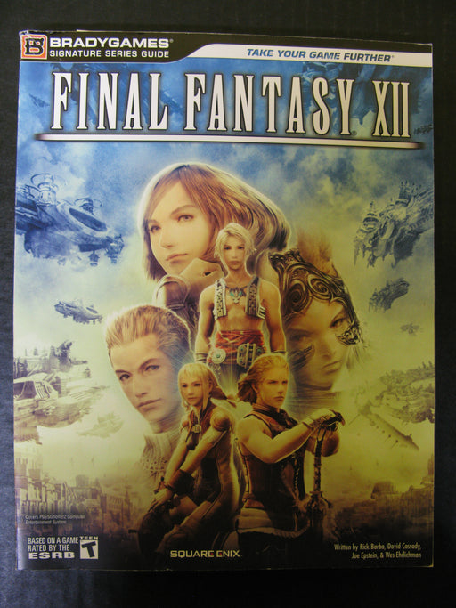 Brady Games Final Fantasy XII Signature Series Guide