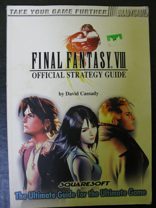 Official Final Fantasy VIII Strategy Guide
