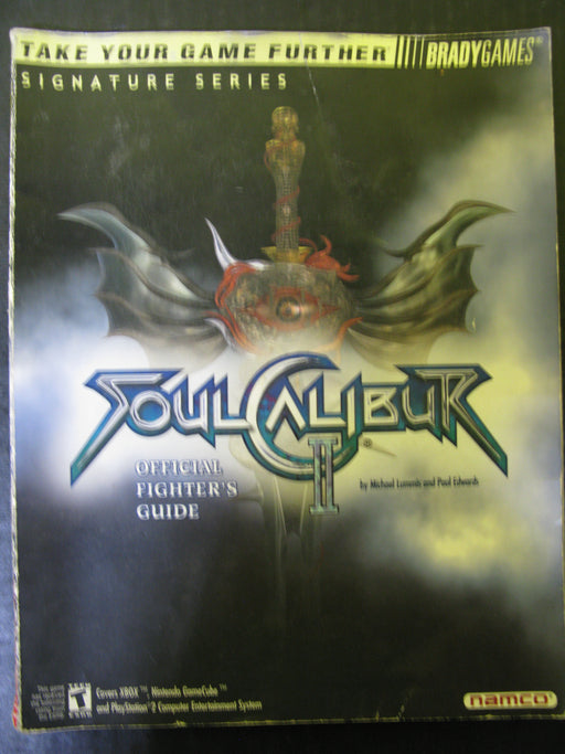 Brady Games Soul Calibur II Official Fighter's Guide Signature Series