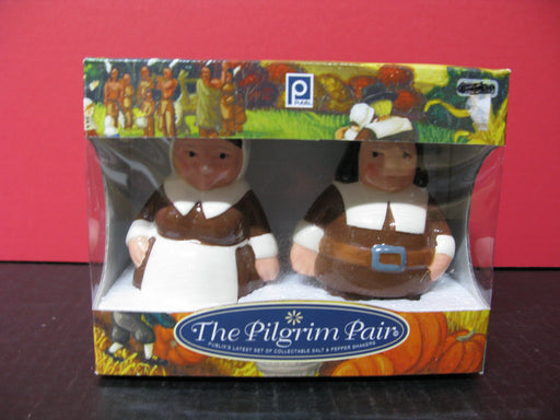 The Pilgrim Pair-Collectible Salt and Pepper Shakers