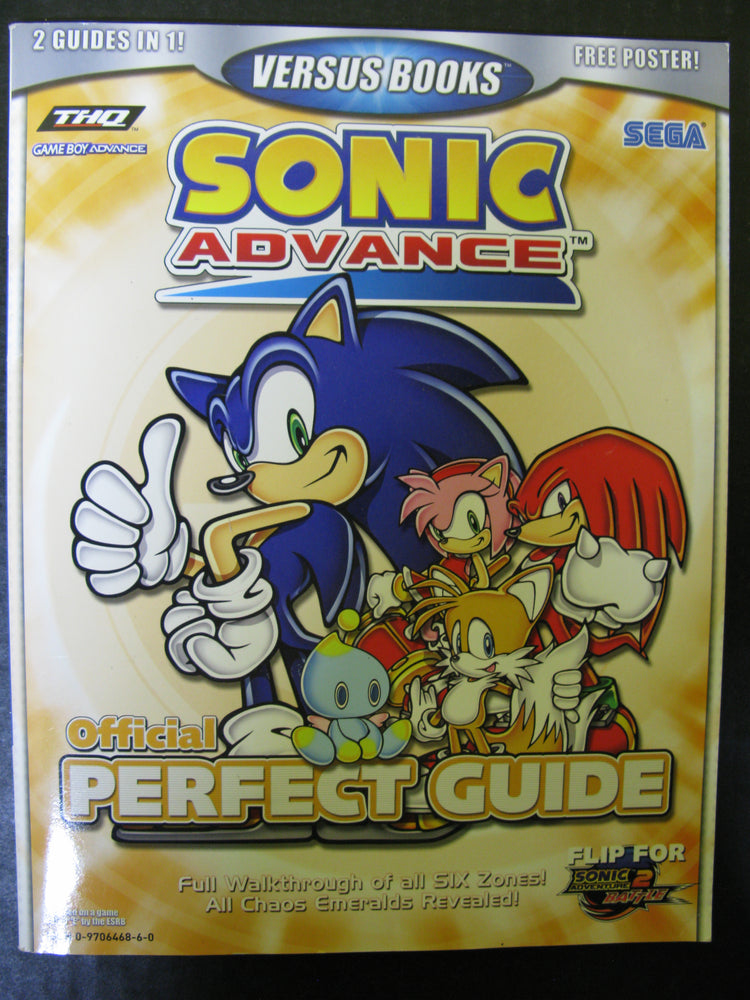 Sonic Advance and Sonic Adventure 2 Battle Official Perfect Guide Vol.37