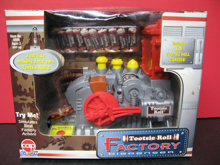 Tootsie Roll Factory Dispenser