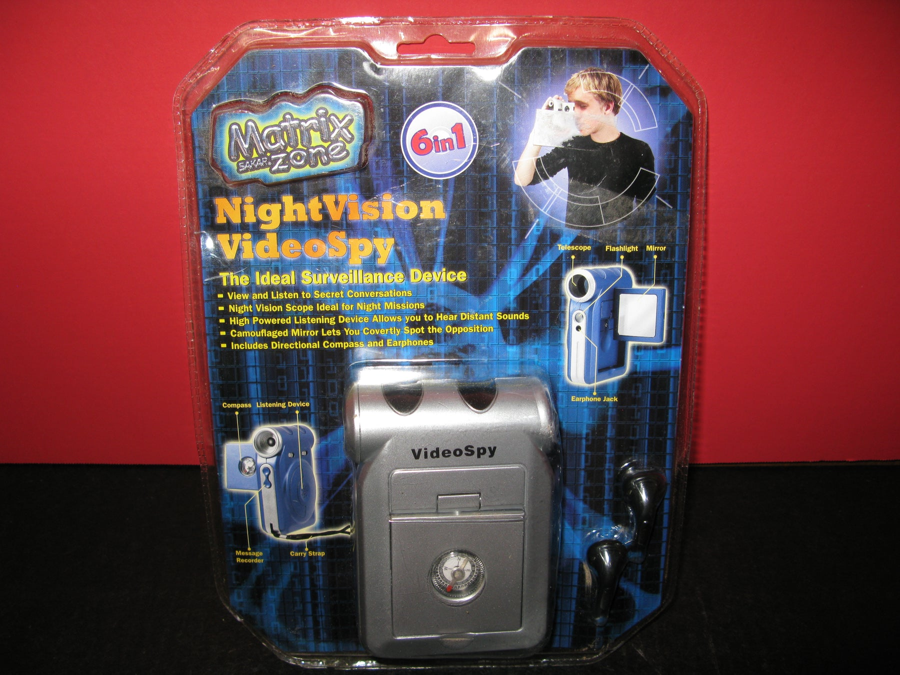 Matrix Zone-Night Vision Video Spy 6 in 1