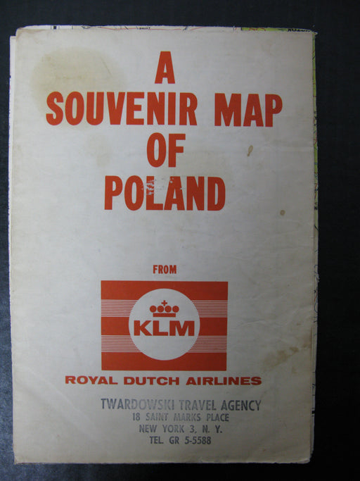 A Souvenir Map of Poland