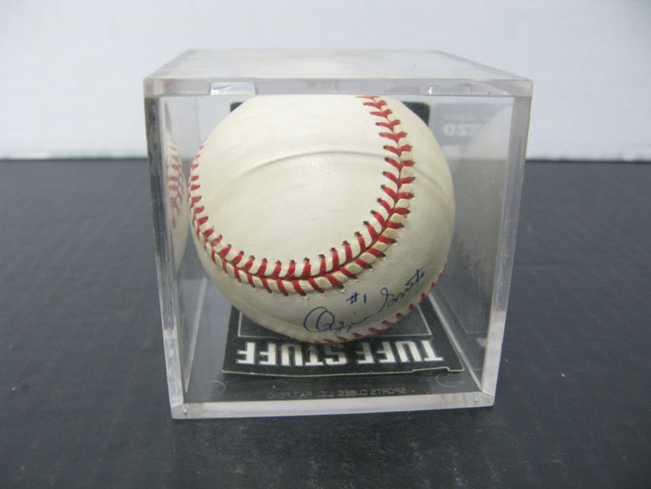 Autographed Baseball by Ozzie Smith