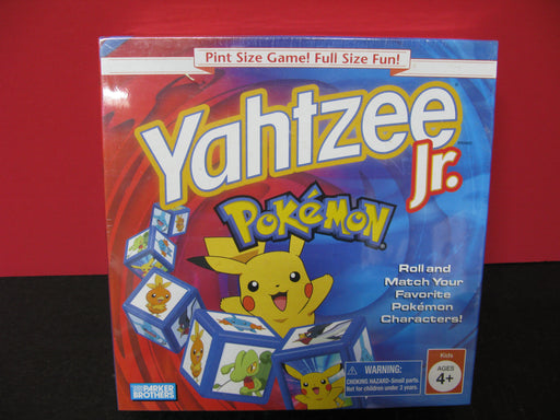 Pokemon Yahtzee Jr. and Pokemon Marble Pouch
