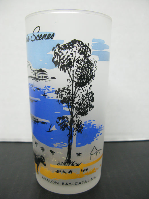 5 California Scenes Glass Cups