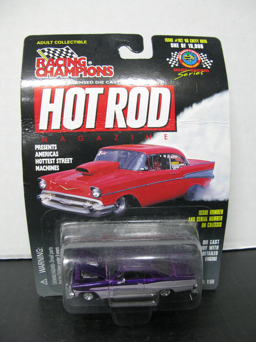Racing Champions Hot Rod Issue #102 '66 Chevy Nova Drag Racing Series