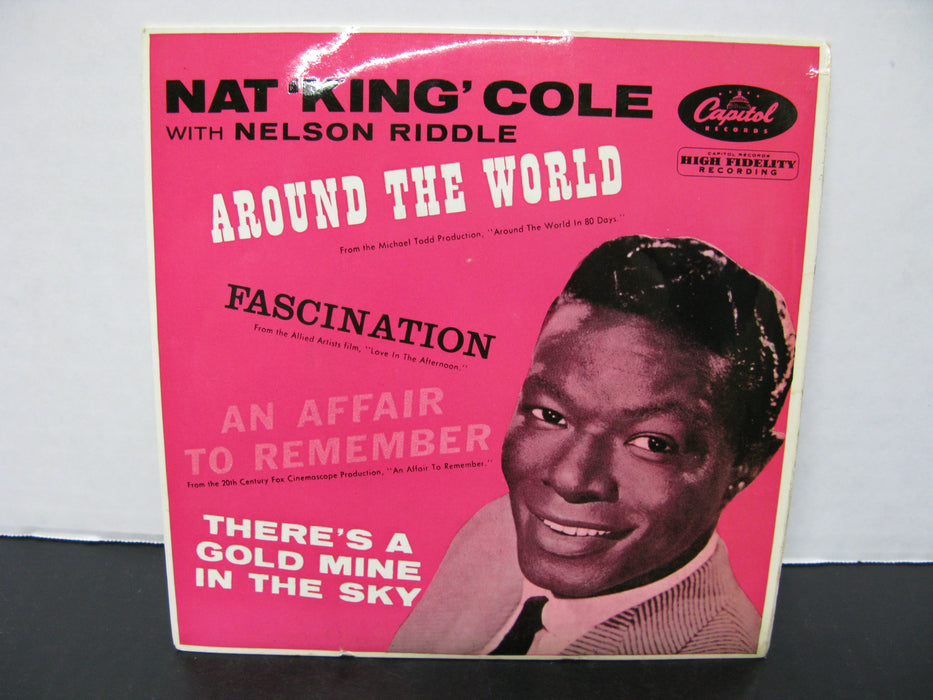 Nat 'King' Cole with Nelson Riddle - Around the World Record Vinyl