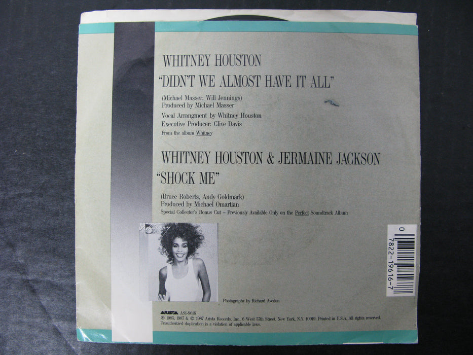 Whitney - Didn't We Almost Have It All Vinyl Record