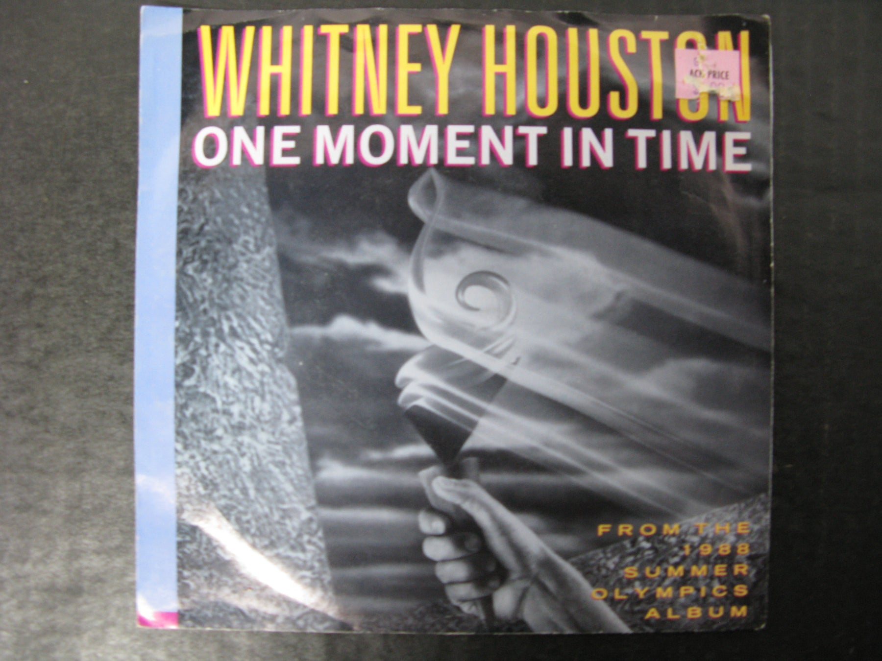 Whitney Houston - One Moment In Time Vinyl Record