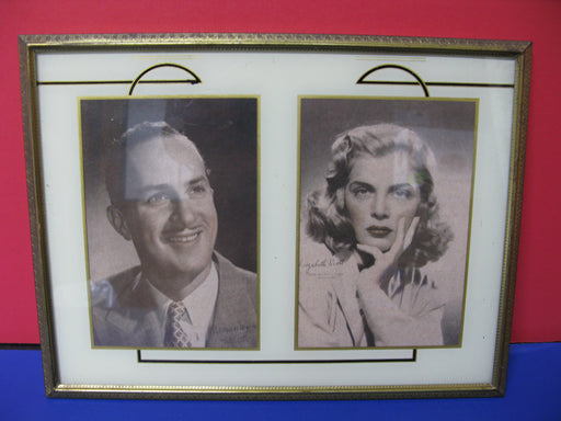 Keenan Wynn and Lizabeth Scott Framed Signed Photographs