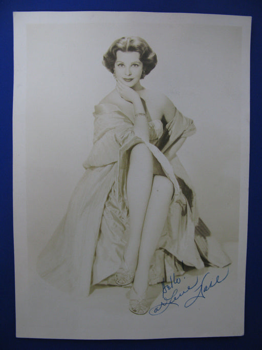 Arlene Dahl Signed Photo