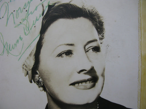 Irene Dunne Signed Photo
