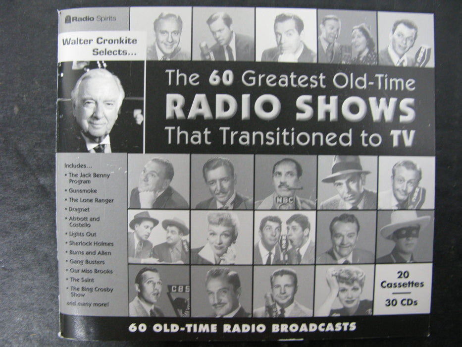 The 60 Greatest Old-Time Radio Shows That Transitioned to TV
