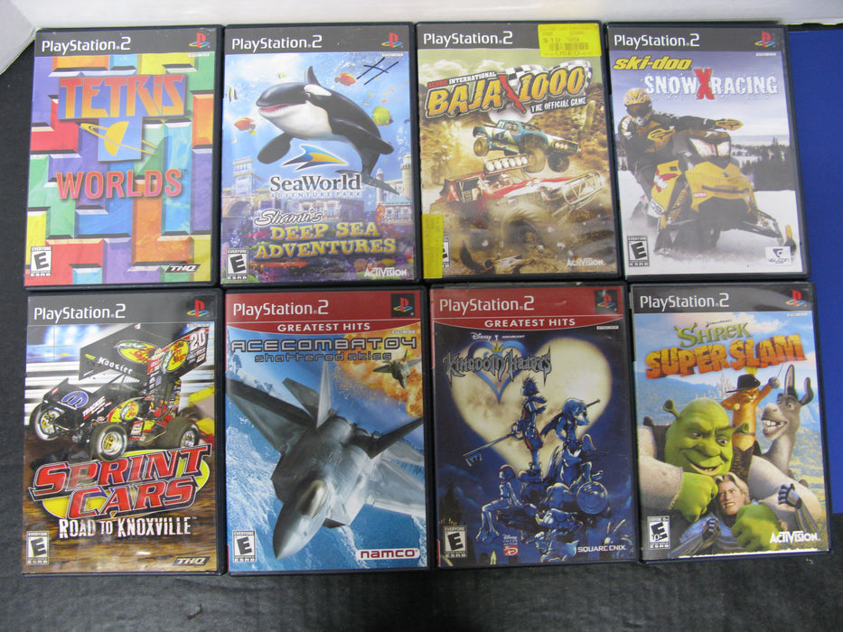 Lot of 8 PlayStation 2 Video Games