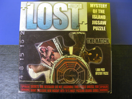 Lost #1 of 4 Mystery of the Island Jigsaw Puzzle