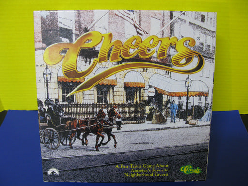 Cheers Trivia Board Game