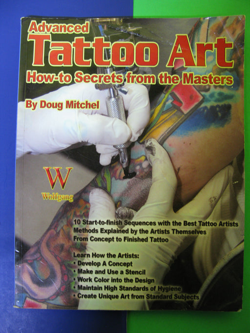 Advanced Tattoo Art Book