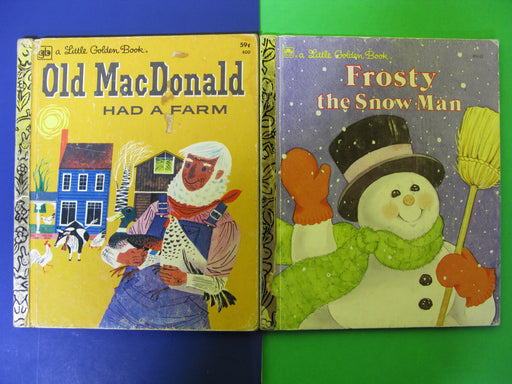 "4 Vintage ""Little Golden Books"""