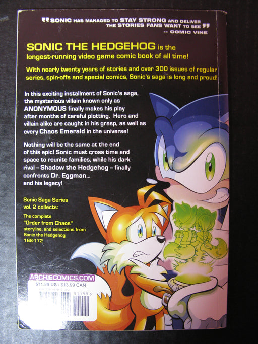 Sonic Saga Series-Order From Chaos Book 2, 2013