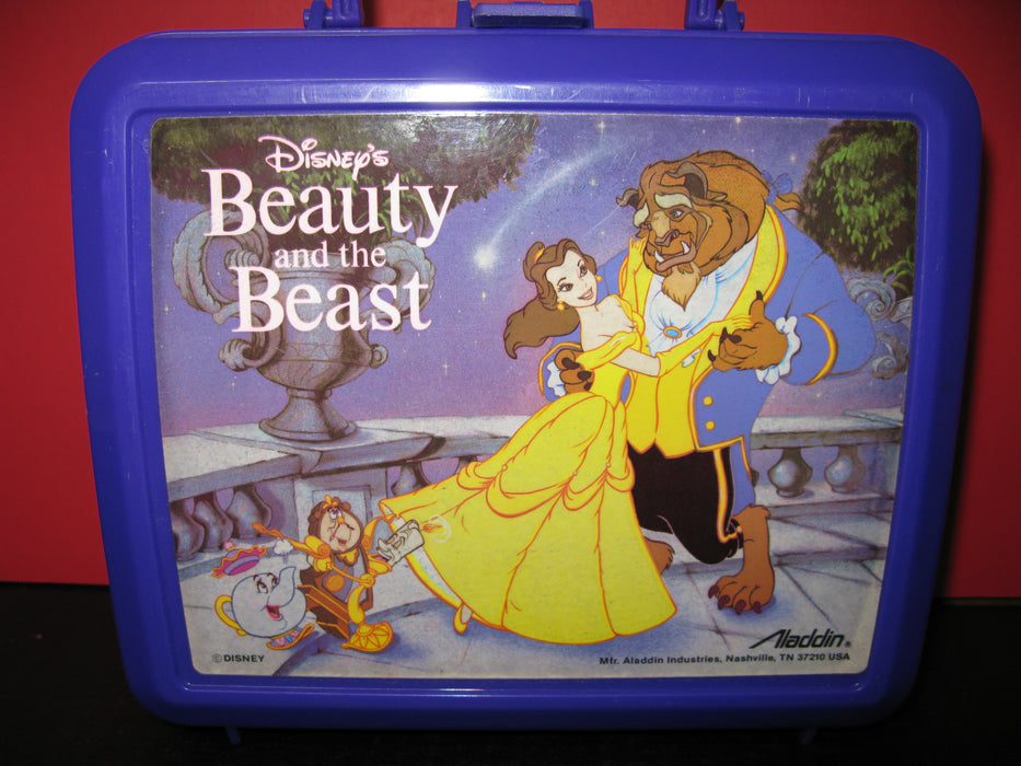 Disney's Beauty and the Beast Lunchbox with Bottle