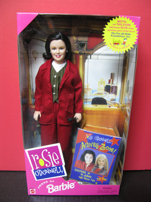 Rosie O'Donnell Friend of Barbie Doll